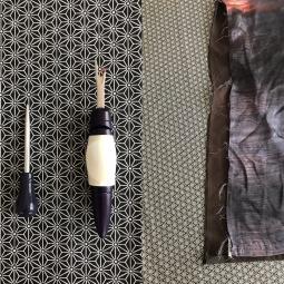 4. Ouvrir les côtés avec un découd vite